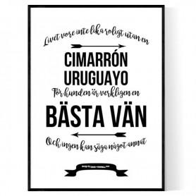 Livet Med Cimarrón Uruguayo Poster